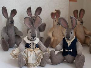 Зайцы. Ярмарка Мастеров - ручная работа, handmade.