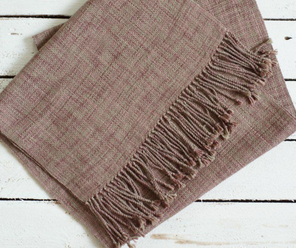 новинка, домотканый шарф, шарф для нее
