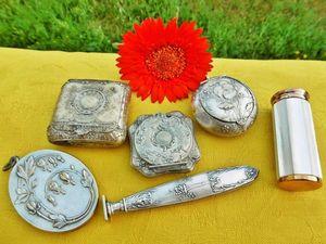 Cтаринные небольшие коллекционные вещицы уже в магазине!. Ярмарка Мастеров - ручная работа, handmade.