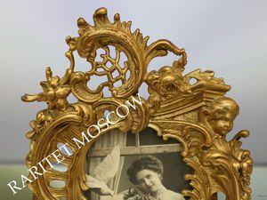 Фоторамка рамка большая ангел бронза Германия 54 | Ярмарка Мастеров - ручная работа, handmade
