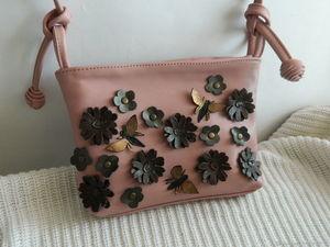 Аукцион с 0 на кожаную сумочку. Ярмарка Мастеров - ручная работа, handmade.