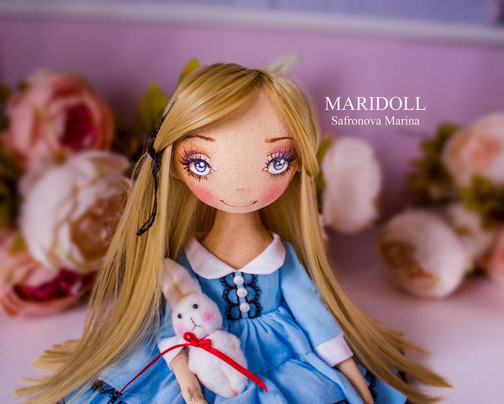 авторская кукла, купить алису