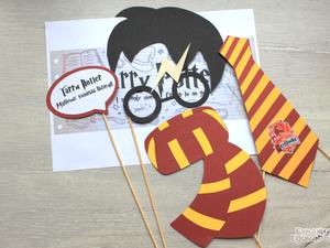 Коллекция праздничной атрибутики в стиле Гарри Поттер. | Ярмарка Мастеров - ручная работа, handmade
