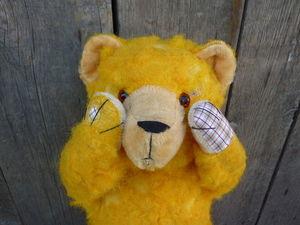Проект «Реставрация медведя Винни». Часть 4. Финальная. Ярмарка Мастеров - ручная работа, handmade.