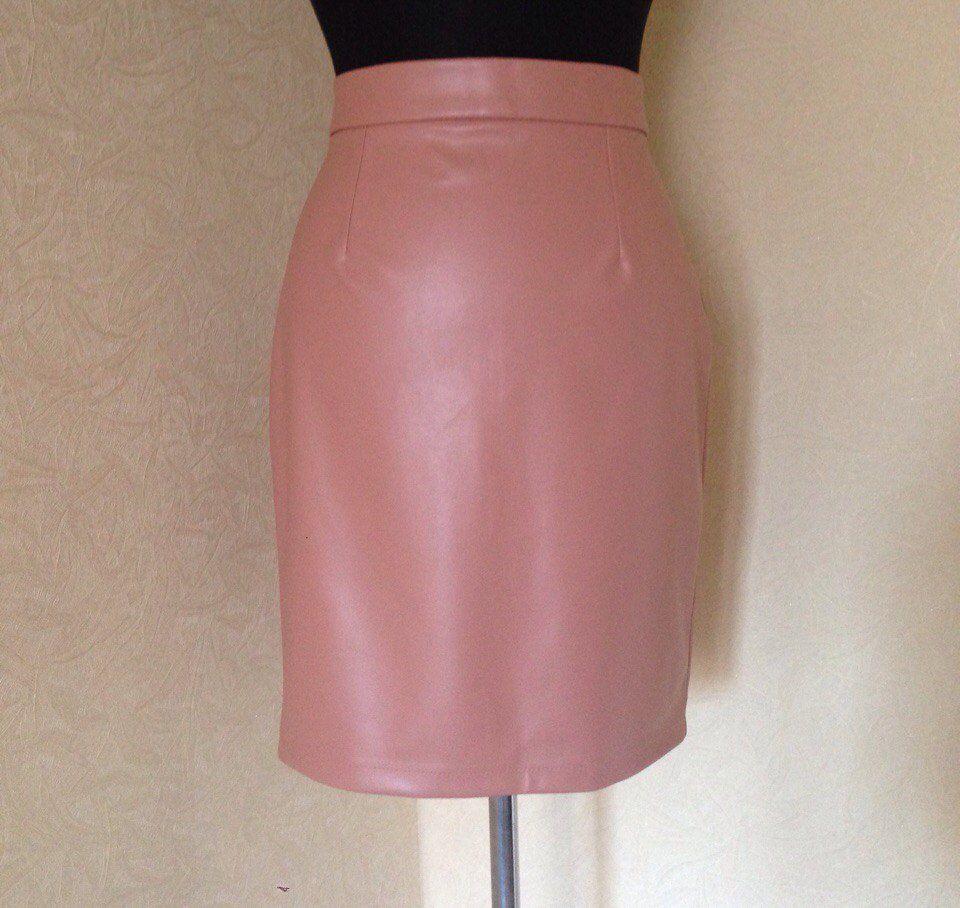 кожаная юбка, юбка из эко-кожи, юбка карандаш, юбка мини, юбка миди, юбка макси, прямая юбка