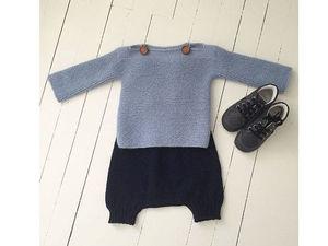 Классика и винтаж: тенденции вязаной моды для самых маленьких. Ярмарка Мастеров - ручная работа, handmade.