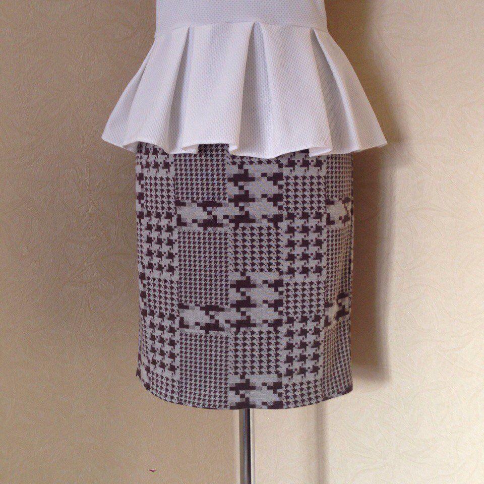юбка карандаш, юбка из трикотажа, юбка миди, прямая юбка, юбка на заказ