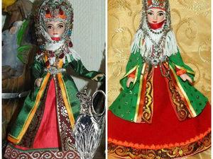 Мои куклы в армянском костюме. Ярмарка Мастеров - ручная работа, handmade.