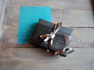 Новогодняя подарочная упаковка мыла.. Ярмарка Мастеров - ручная работа, handmade.