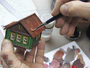 Процесс работы над подарочной миниатюрой. Ярмарка Мастеров - ручная работа, handmade.