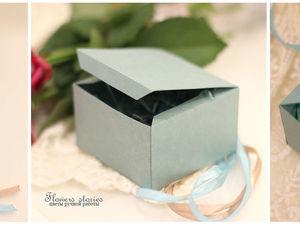 Создаем коробочку для небольших украшений. Ярмарка Мастеров - ручная работа, handmade.