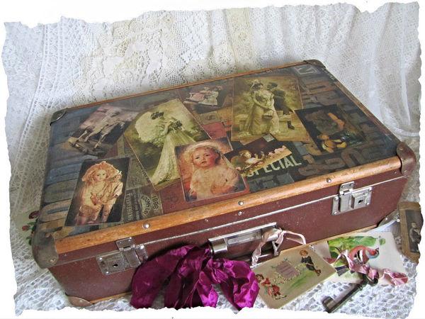 Большой интерьерный чемодан в продаже! | Ярмарка Мастеров - ручная работа, handmade