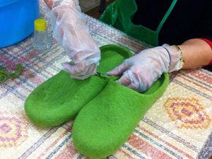 Тапочки-шлепанцы с гарбо-пяткой: о МК 22-23 ноября в Москве   Ярмарка Мастеров - ручная работа, handmade