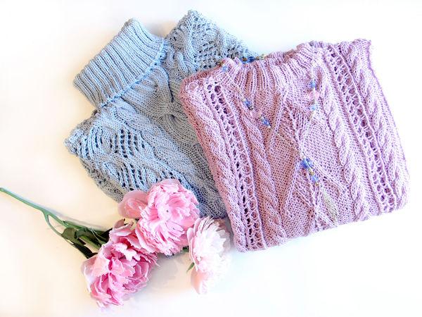 Новинки! Вязаные свитера!   Ярмарка Мастеров - ручная работа, handmade