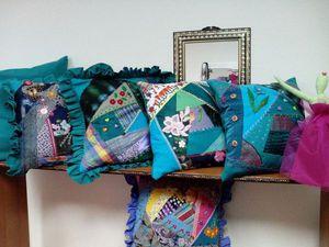 Декоративные подушки в моде!   Ярмарка Мастеров - ручная работа, handmade