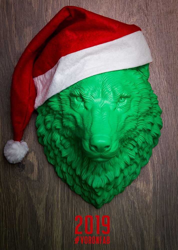 животные, охота, декор, волк, голова, настенный декор, 2019 год
