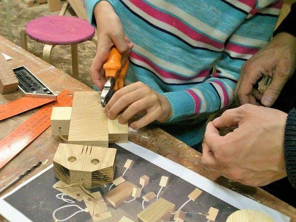 Папа-сын. Столярка для новичка | Ярмарка Мастеров - ручная работа, handmade