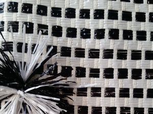 Применение хлопковой рогожки с ПВХ нитями. Ярмарка Мастеров - ручная работа, handmade.