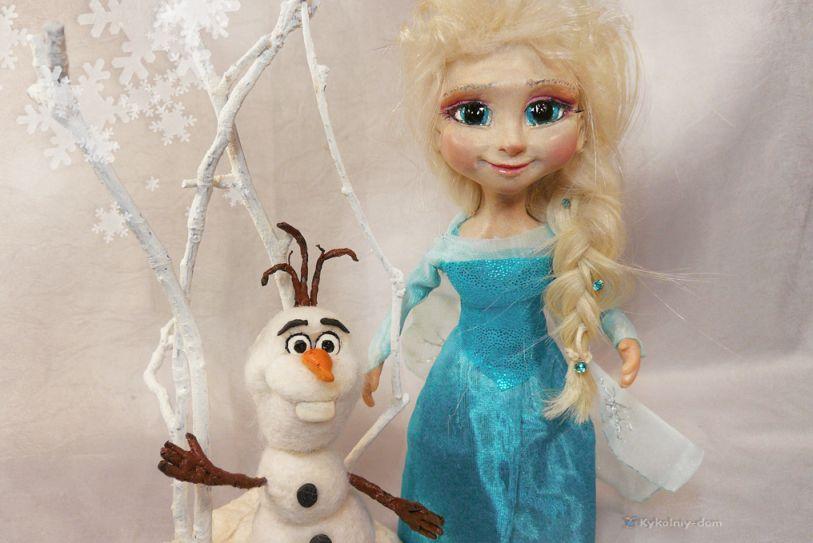 Сшить куклу эльзу из холодного сердца 8