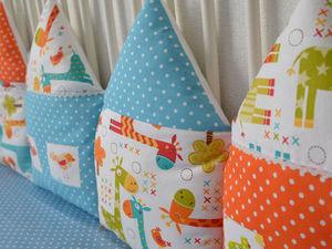 Бортики для детской кроватки | Ярмарка Мастеров - ручная работа, handmade