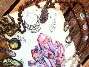 Камни для чакр. Видео от Анны Гак.. Ярмарка Мастеров - ручная работа, handmade.