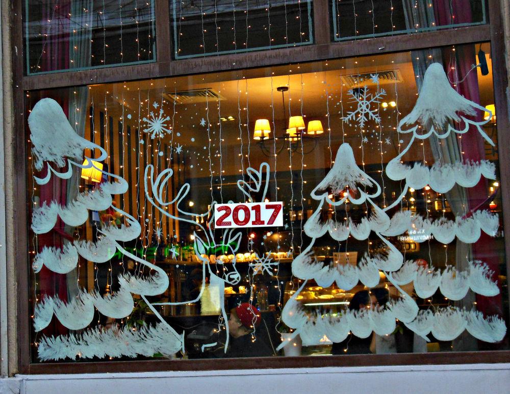 выспалась, украшаем магазин к новому году фото это умение