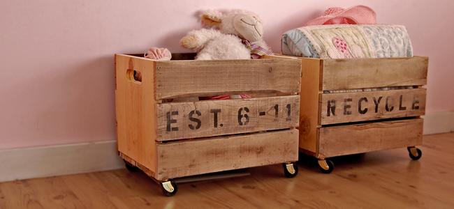 Ящик на колесах для игрушек своими руками