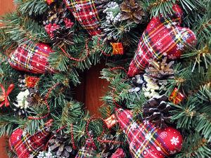 Рождественский венок своими руками? Легко!. Ярмарка Мастеров - ручная работа, handmade.