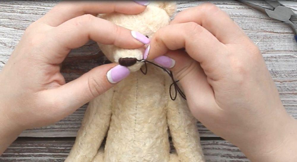 пошив мишки тедди