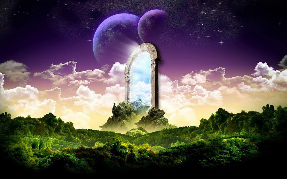 магический фиолетовый