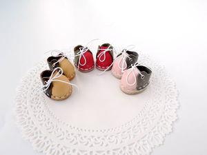 Короткие ботиночки для тедди). Ярмарка Мастеров - ручная работа, handmade.