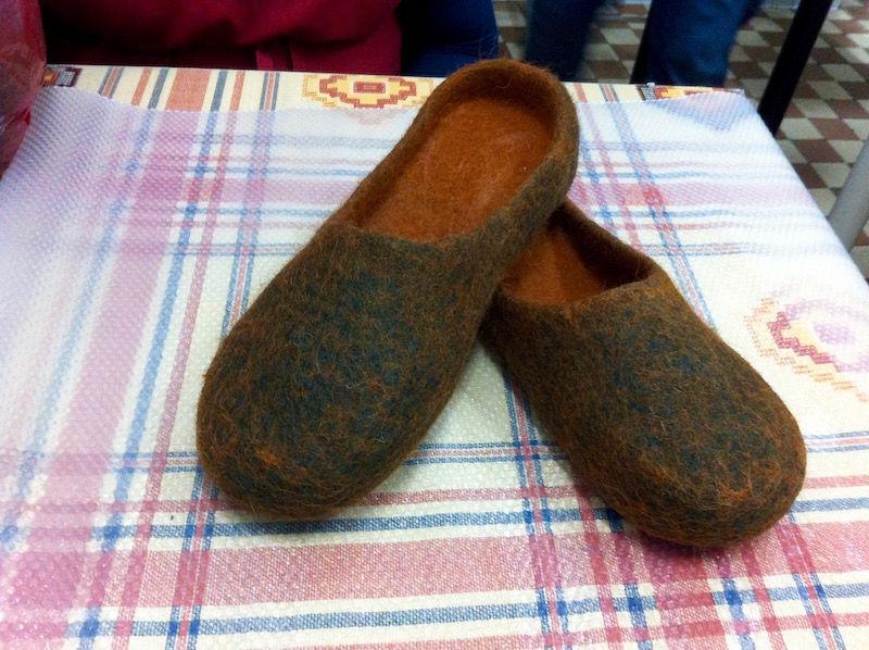 тапочки-шлепанцы, широкая нога