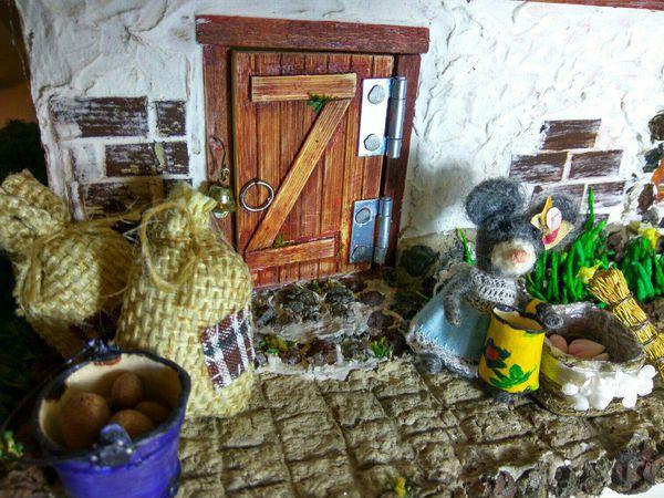 Сказочный мини-домик для мышки в наличии! | Ярмарка Мастеров - ручная работа, handmade