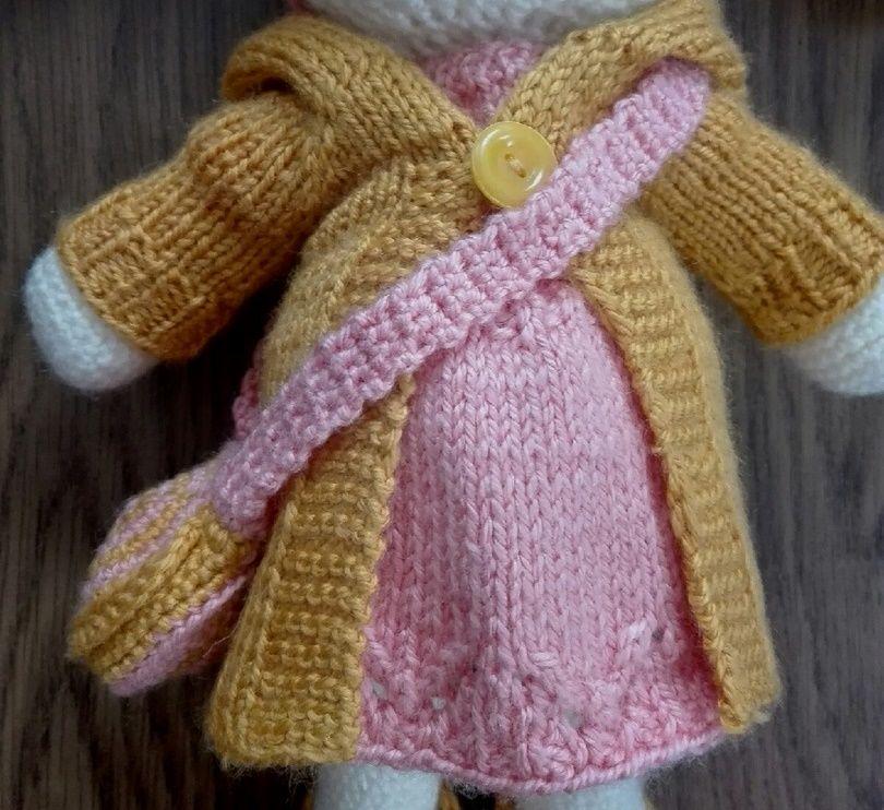вязаная одежда, вязание спицами