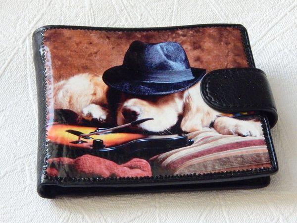 Новинка магазина - кожаные кошельки   Ярмарка Мастеров - ручная работа, handmade