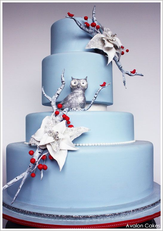 The 12th Cake of Christmas by Avalon Yarnes of Avalon Cakes