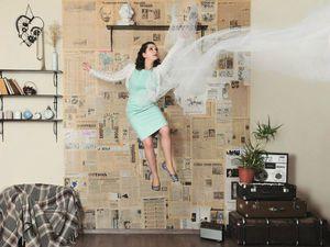 Необычное оформление стен: газеты в интерьере | Ярмарка Мастеров - ручная работа, handmade