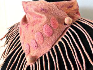 Знакоство с новым шарфиком. Ярмарка Мастеров - ручная работа, handmade.