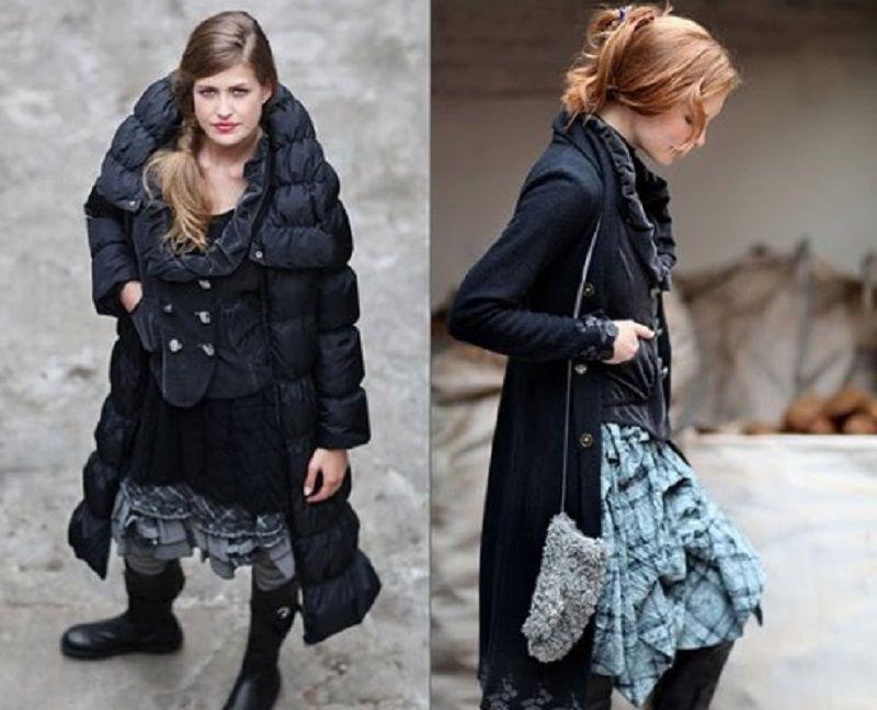 пальто в бохо стиле