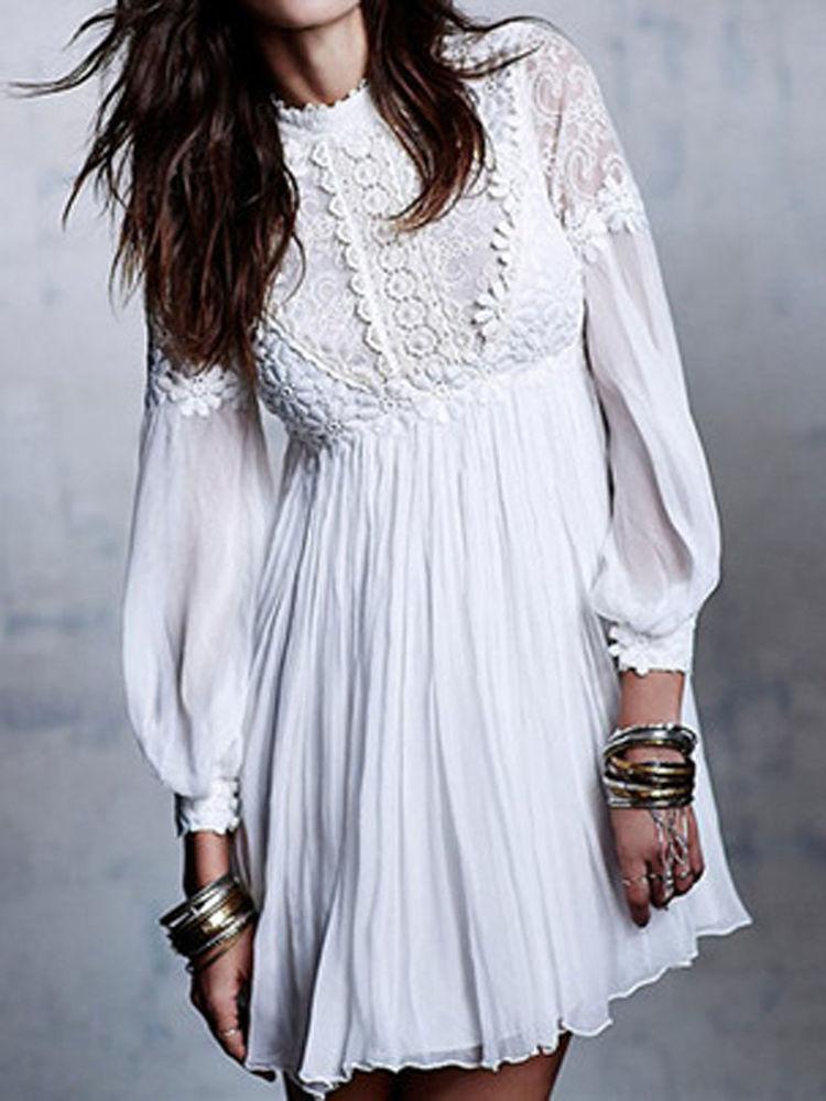 Белое бохо, или Шикарная одежда для королевы летнего пляжа, фото № 101