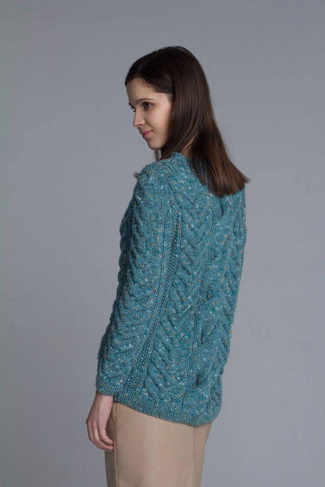 купить свитер, подарок девушке, качество, берюзовый