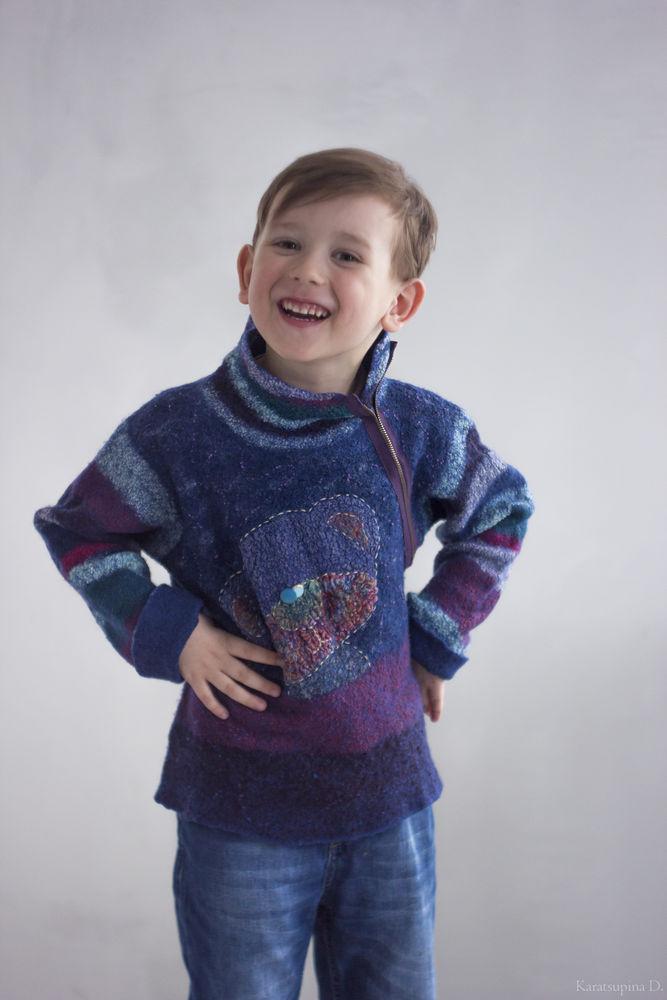 валяный свитер, одежда для мужчин