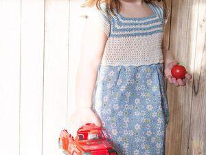 Фотосессия Хлопковое Платье для Девочки | Ярмарка Мастеров - ручная работа, handmade