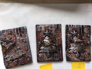 """Новая серия АТС карточек — """"Снежный Стимпанк"""". Ярмарка Мастеров - ручная работа, handmade."""