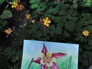 Мастер-класс: как нарисовать цветок в технике многослойной акварели | Ярмарка Мастеров - ручная работа, handmade