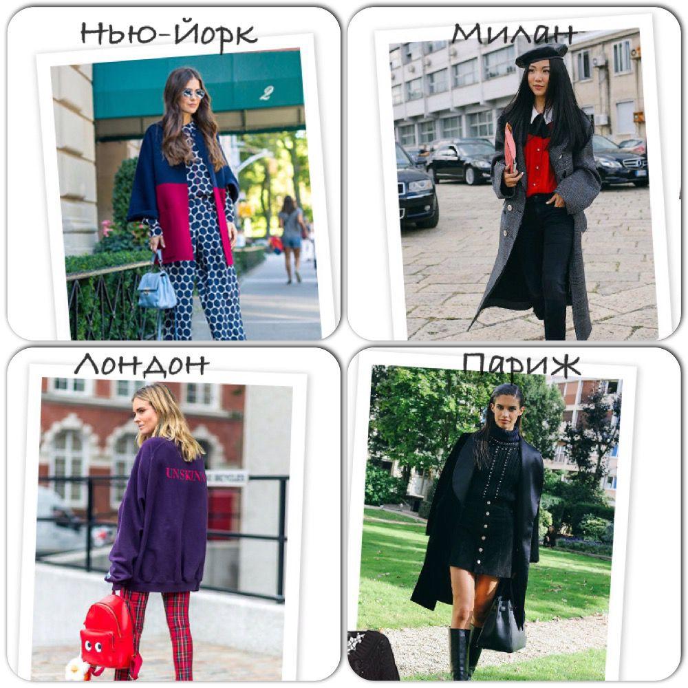 мода, мода улиц, недели моды