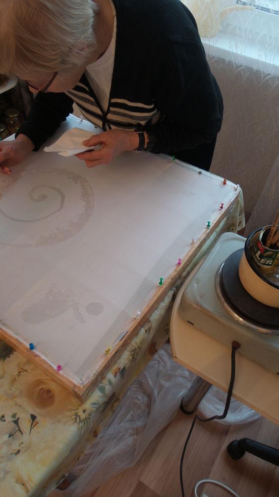 мастер-класс, роспись по ткани