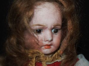 Редкая антикварная куколка с тремя лицами. Ярмарка Мастеров - ручная работа, handmade.