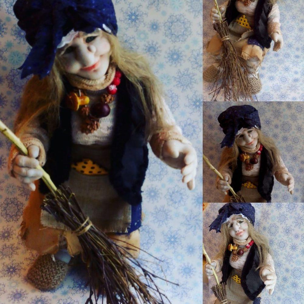 кукла в подарок, баба яга