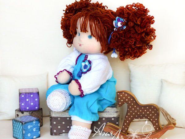 Приглашаю на МК по вальдорфской кукле в Москве | Ярмарка Мастеров - ручная работа, handmade